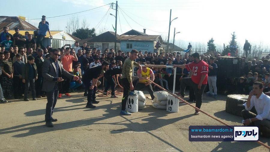مسابقات قویترین مردان شهرستان لنگرود 25 - مسابقات قویترین مردان شهرستان لنگرود در روستای دریاکنار برگزار شد + گزارش تصویری