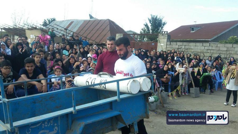 مسابقات قویترین مردان شهرستان لنگرود 3 - مسابقات قویترین مردان شهرستان لنگرود در روستای دریاکنار برگزار شد + گزارش تصویری