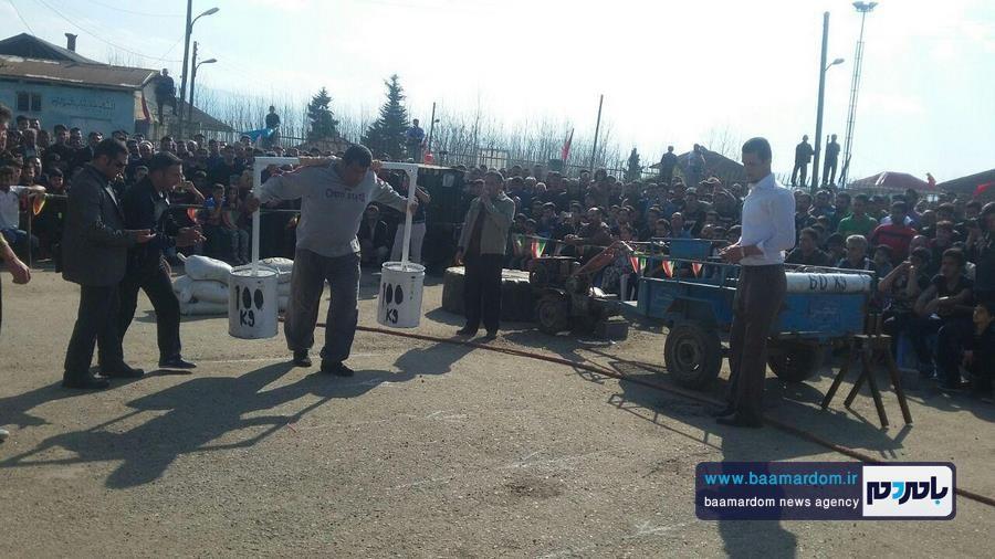 مسابقات قویترین مردان شهرستان لنگرود 7 - مسابقات قویترین مردان شهرستان لنگرود در روستای دریاکنار برگزار شد + گزارش تصویری