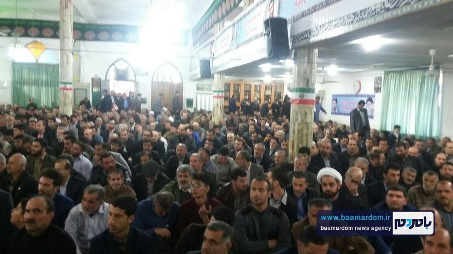 یادواره سردار شهید املاکی 15 - بیست و نهمین سالگرد شهادت سردار شهید حسین املاکی برگزار شد + گزارش تصویری