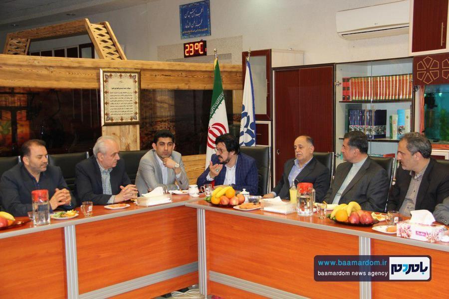 اولین جلسه شورای شهر لاهیجان در سالجاری برگزار شد