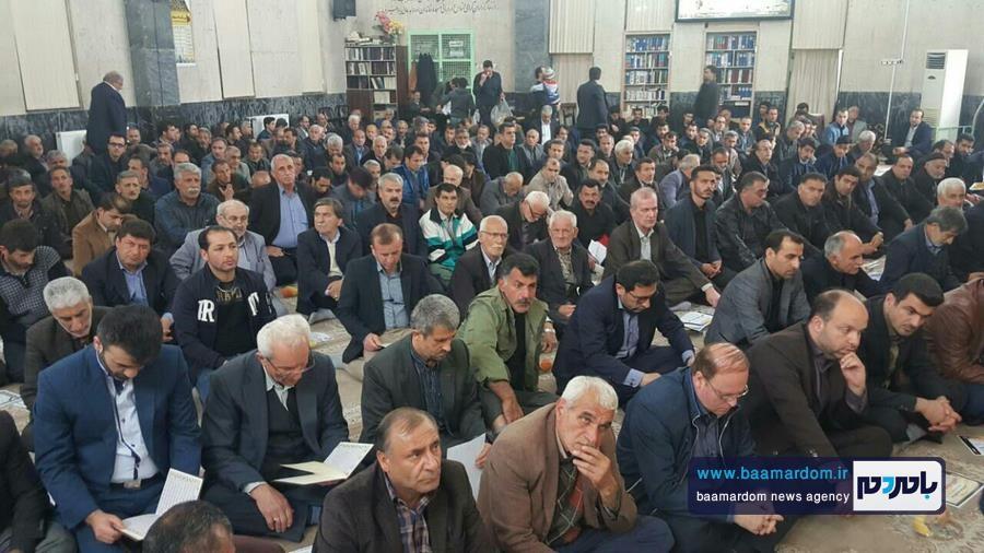 مراسم ختم والده مکرمه سردار شهید بیژن روشن در ماسال برگزار شد + تصاویر