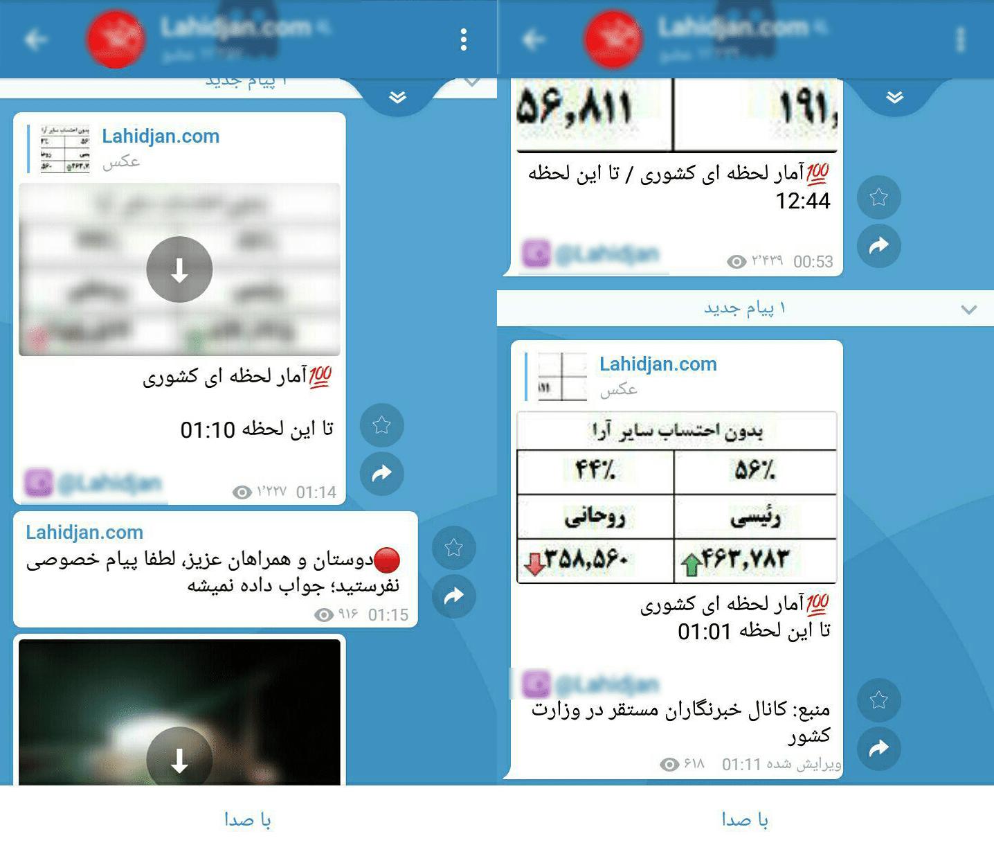 از انتشار آمار فریبنده توسط رسانه های دلواپس تا رای بی نظیر مردم لاهیجان و پاسخ قاطع مردم لاهیجان به دلواپسان!