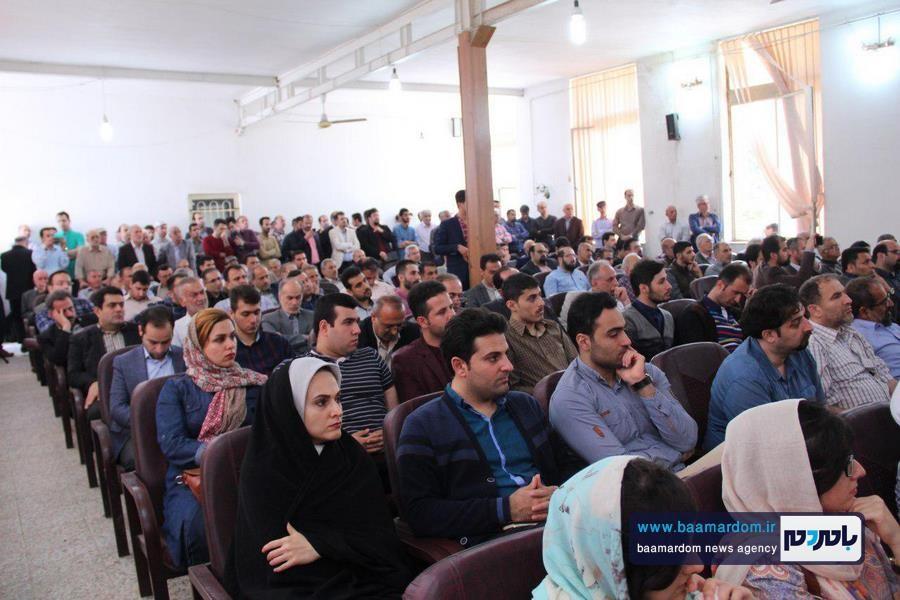 افتتاح ستاد دکتر حسن روحانی در آستانهاشرفیه با حضور صادق زیباکلام
