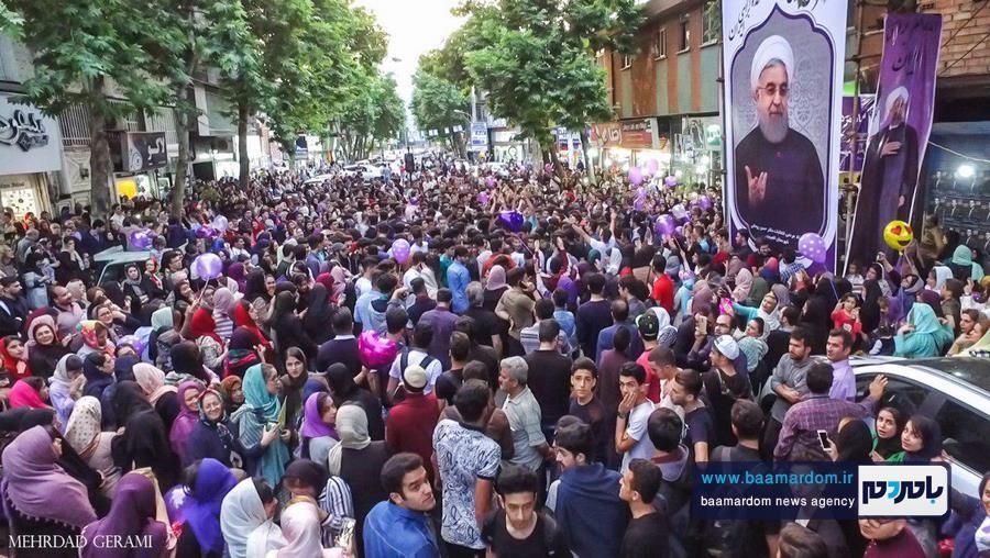 گزارش تصویری اجتماع بزرگ و جشن و سرور حامیان روحانی در لاهیجان