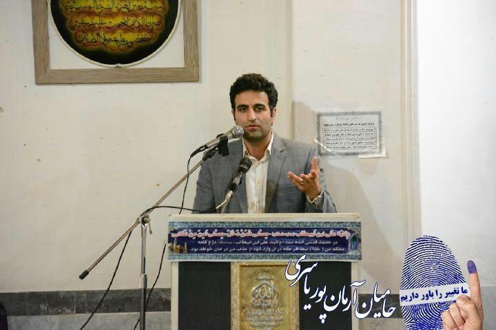 از شنیدن درد و دل ساکنین محل های مختلف شهر لاهیجان تا حمایت چهره های شاخص از آرمان پور یاسری