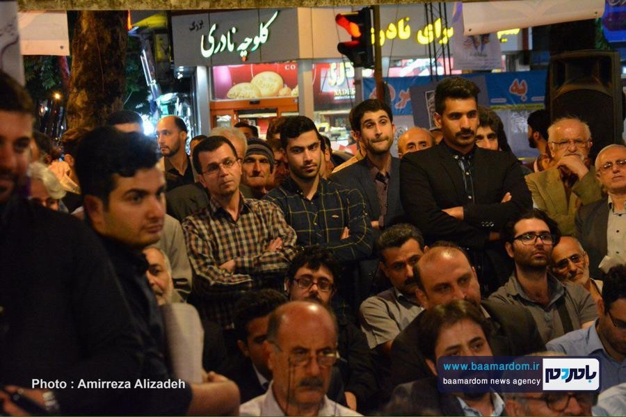 گزارش تصویری سخنرانی آذر منصوری در ستاد تبلیغاتی دکتر روحانی در لاهیجان