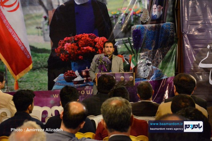 سخنرانی دکتر درودیان در ستاد روحانی لاهیجان 6 - با اقدامات دولت تدبیر و امید، محیطزیست جایگاه خود را پیدا کرده است   نیمی از سازمانهای مردم نهاد در گیلان در دولت یازدهم به ثبت رسید + تصاویر