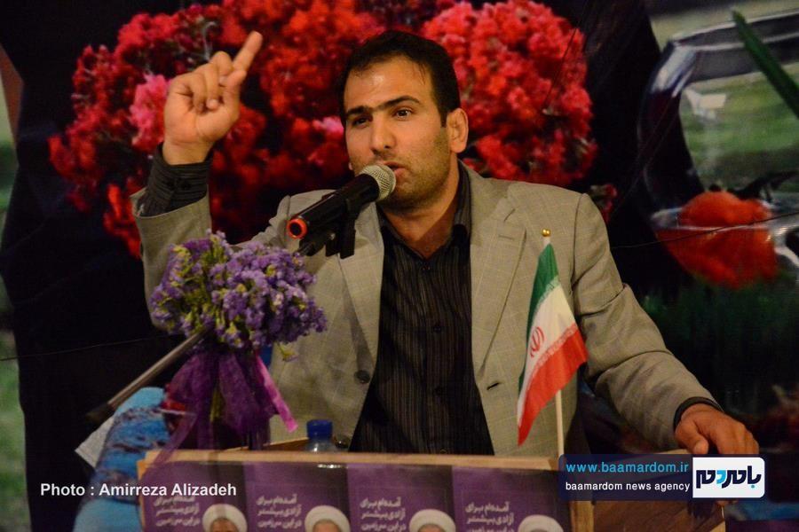 سخنرانی دکتر درودیان در ستاد روحانی لاهیجان 9 - با اقدامات دولت تدبیر و امید، محیطزیست جایگاه خود را پیدا کرده است   نیمی از سازمانهای مردم نهاد در گیلان در دولت یازدهم به ثبت رسید + تصاویر