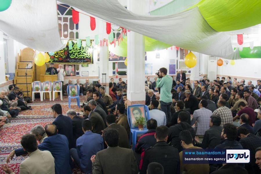 جشن ولادت حضرت ابوالفضل عباس و روز جانباز در لاهیجان برگزار شد + تصاویر