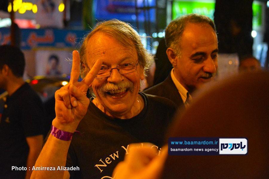 به ایران و ایرانیان بسیار علاقمندم   دکتر روحانی را دوست دارم   راه موفقیت و توسعه ایران انتخاب مجدد روحانی است