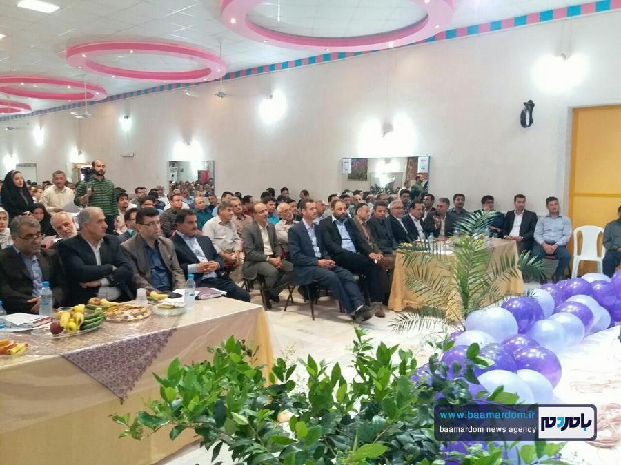 گرامیداشت مقام معلم در کیاشهر 1 - دولت یازدهم توجهش به فرهنگیان بیشتر از دولت های گذشته بوده است