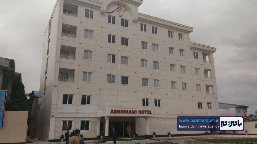 افتتاح هتل ابریشمی لاهیجان و بازدید از بازارچه صنایع دستی هتل جهانگردی