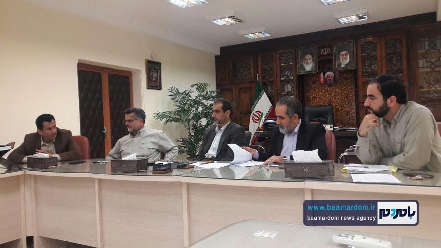 جلسه هیئت امنای شهدای گمنام شهرستان لاهیجان برگزار شد + تصاویر