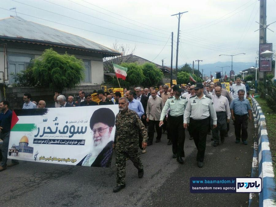 گزارش تصویری راهپیمایی روز قدس در شلمان