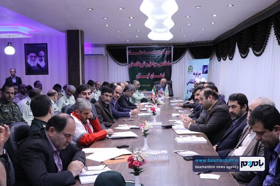 گزارش تصویری نشست ستاد ساماندهی سواحل و تفرجگاه های استان گیلان