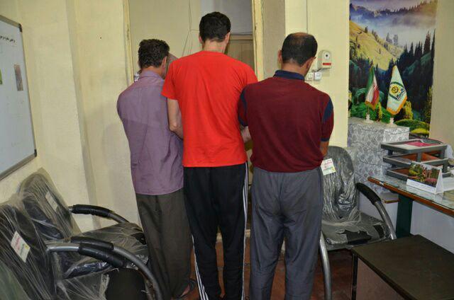 دستگيري اعضاي باند ۳ نفره سرقت احشام در رودسر