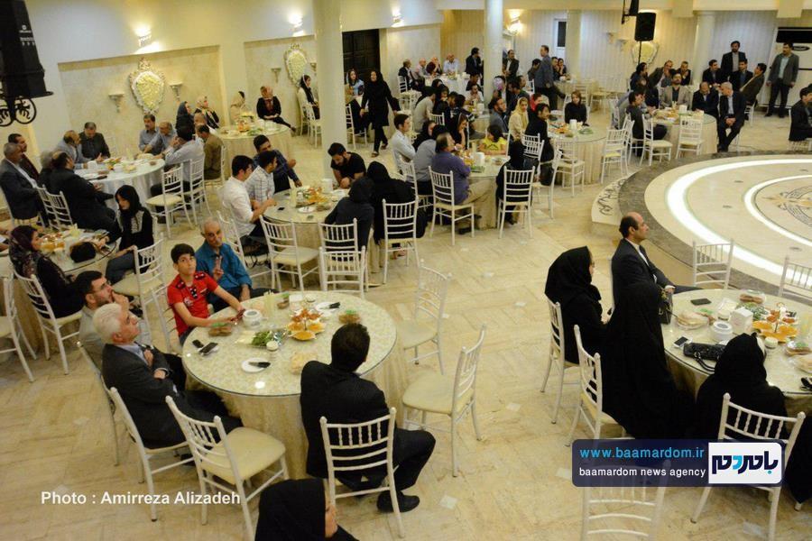 گزارش تصویری ضیافت افطاری ستاد مردمی دکتر روحانی در استان گیلان در لاهیجان