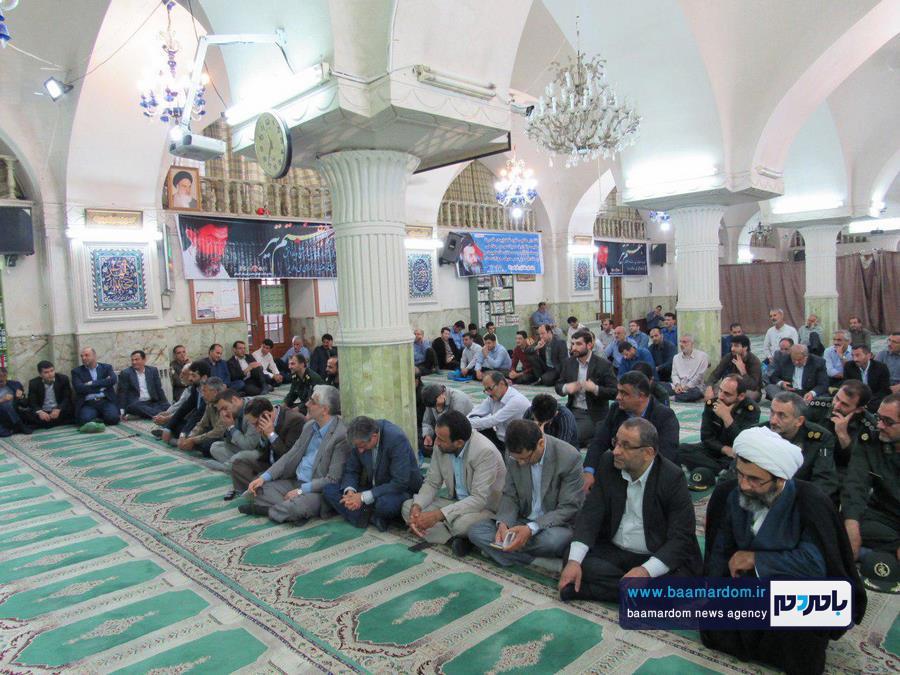 گزارش تصویری مراسم گرامیداشت یاد و خاطره شهدای گرانقدر هفت تیر در لاهیجان
