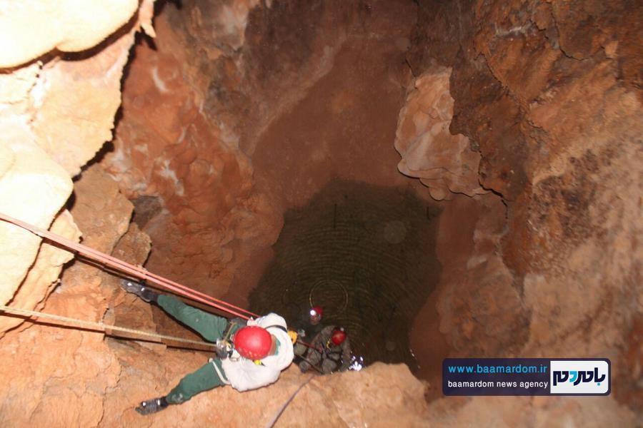 پیمایش غار فنی اسپهپدان توسط تیم غارنوردی باشگاه کوهنوردی باران لاهیجان + تصاویر