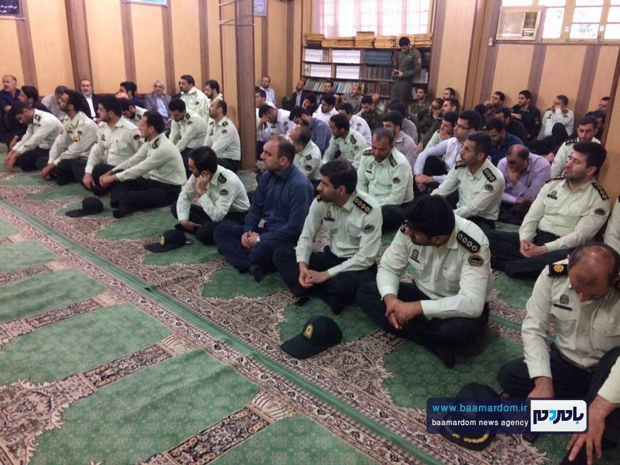 مراسم يادبود شهيد مدافع امنيت، شهيد حسن عشوري در لاهیجان برگزار شد + تصاویر