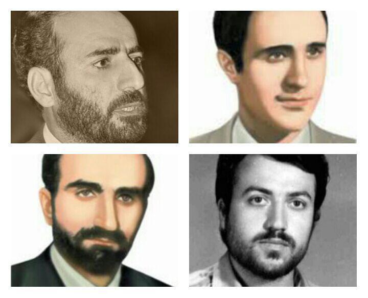 زندگینامه ۴ شهید گیلانی حادثه هفتم تیر ۱۳۶۰