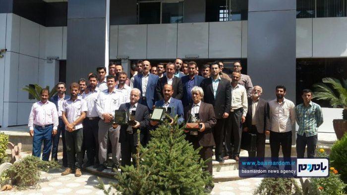 آیین تجلیل و تکریم از سه تن از بازنشستگان شهرداری کلاچای برگزار شد + تصاویر