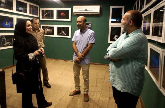آیین گشایش نمایشگاه گروهی عکس پله سوم 3 - گزارش تصویری آیین گشایش نمایشگاه عکس تئاتر «پله سوم» در لاهیجان