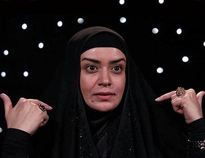 الهام چرخنده خادم حرم امام حسین (ع) شد+عکس