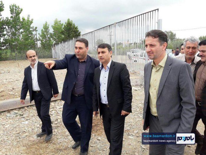گزارش تصویری بازدید فرماندار صومعه سرا از پروژه ها و برنامه های این شهرستان