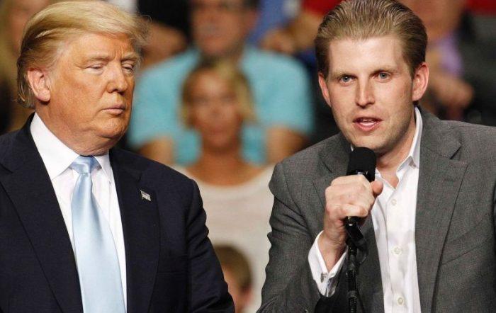 ترامپ برای جلوگیری از زندان رفتن فرزندش استعفا میدهد