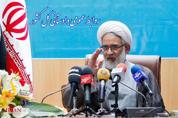 پاسخ دادستان کل کشور درباره پروندههای توهین به رییسجمهوری، احمدینژاد، تخلفات مدیران دولتی در انتخابات،مدیران کانالهای تلگرامی و آمادگی برای برگزاری دادگاههای سیاسی