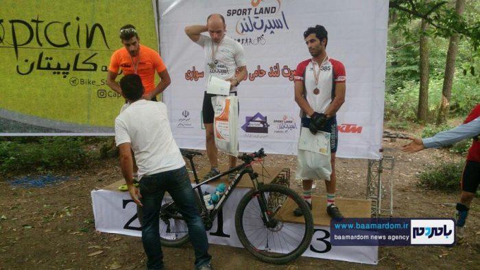 مسابقات دوچرخهسواری قهرمانى گیلان در رشته كوهستان برگزار شد + اسامی نفرات برتر
