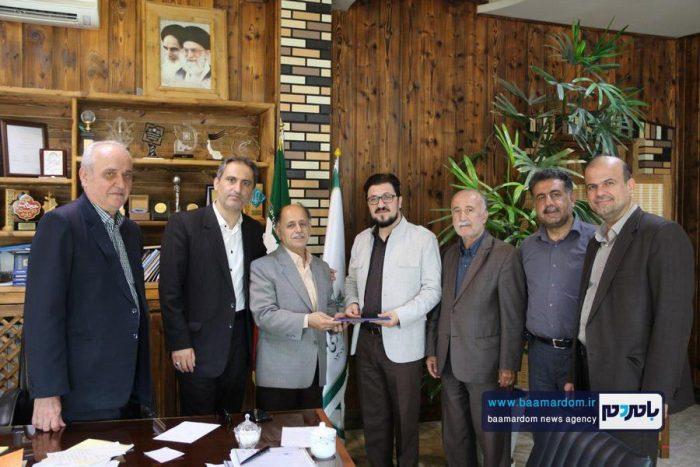 دیدار اعضای شورای شهر با شهردار و کارکنان شهرداری لاهیجان