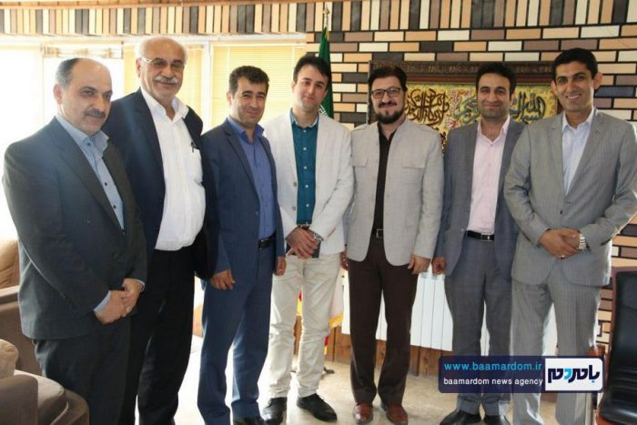 دیدار منتخبین دوره پنجم شورای شهر با شهردار لاهیجان