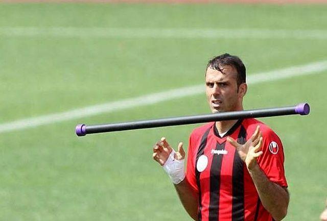کاپیتان پرسپولیس در بازی با سوریه خداحافظی کند!