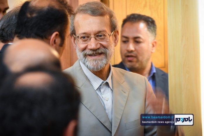 فعالیت انتخاباتی لاریجانی فعلا تکذیب شد