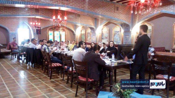 نشست انجمن راهنمایان گردشگری استان گیلان به میزبانی لاهیجان برگزار شد + تصاویر