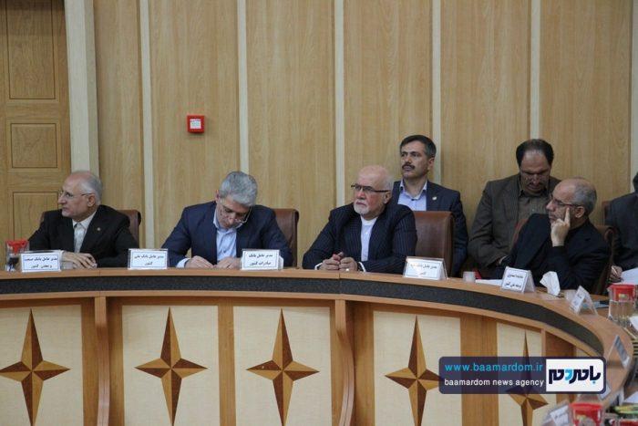 نشست هماهنگی برنامههای توسعه اشتغال و تولید گیلان 7 - نشست هماهنگی برنامههای توسعه اشتغال و تولید گیلان برگزار شد   گزارش تصویری