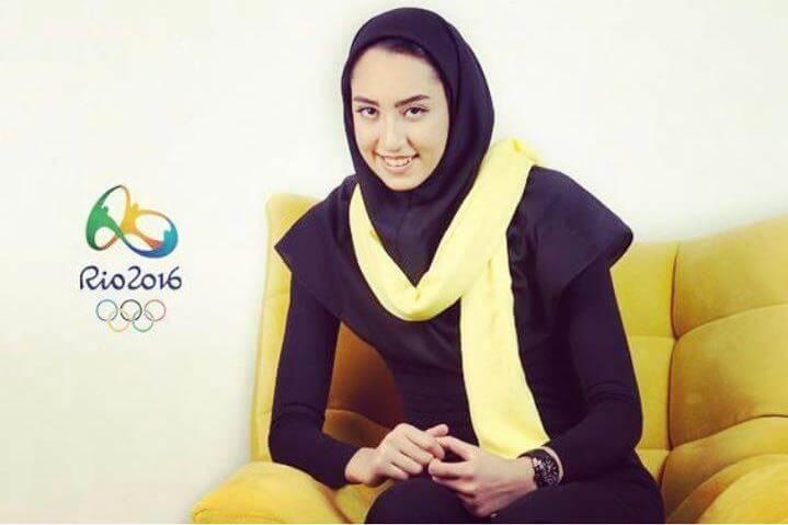شوک به تکواندوی ایران؛ کیمیا علیزاده به هلند مهاجرت کرد