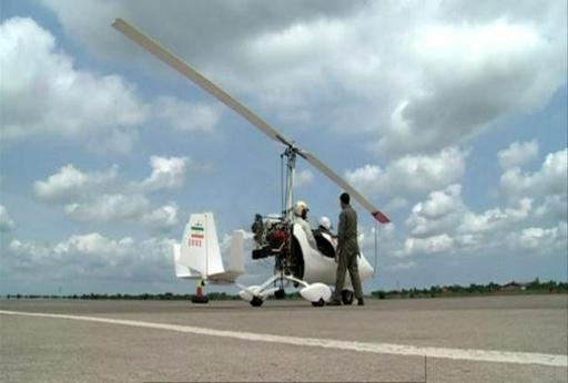 کنترل جاده های گیلان با گشت هوایی