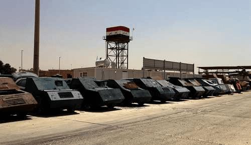 خودروهای عجیب و غریب داعشی ها + تصاویر