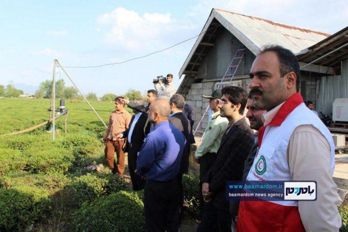 افتتاح پروژه آبیاری تحت فشار روستای کویه سفلی رودسر | گزارش تصویری