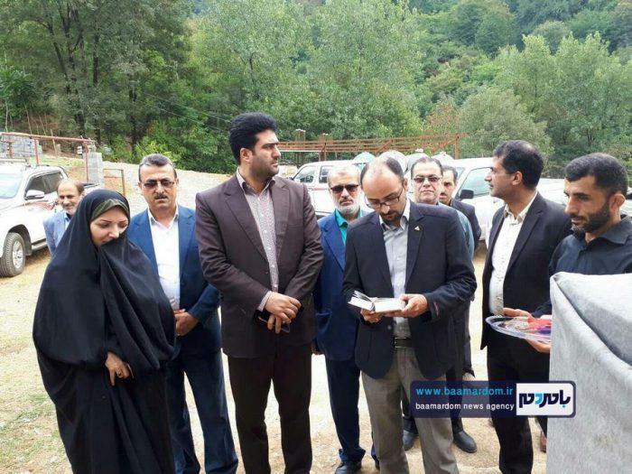 افتتاح چند طرح عمرانی در بخش مرکزی شهرستان سیاهکل + تصاویر