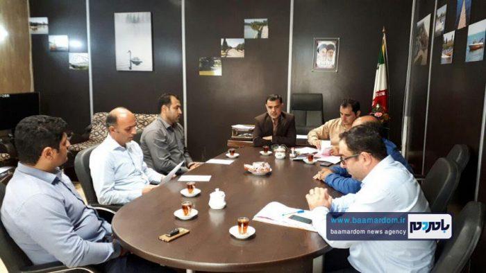 عبدالحسین ابراهیمی سرپرست شهرداری چاف و چمخاله شد | معرفی اعضای هیات رییسه شورا + تصاویر