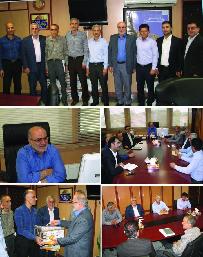 مدیرعامل شرکت گاز استان گیلان از آزادگان سرافراز این شرکت تجلیل کرد