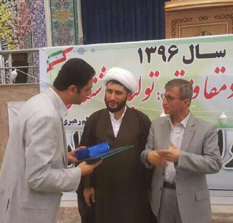 تقدیر امام جمعه شهرستان املش از شهردار رانکوه + تصاویر