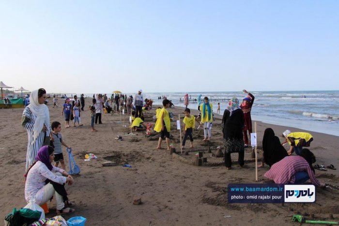 گزارش تصویری جشنواره روز ملی دریای کاسپین در ساحل رودسر