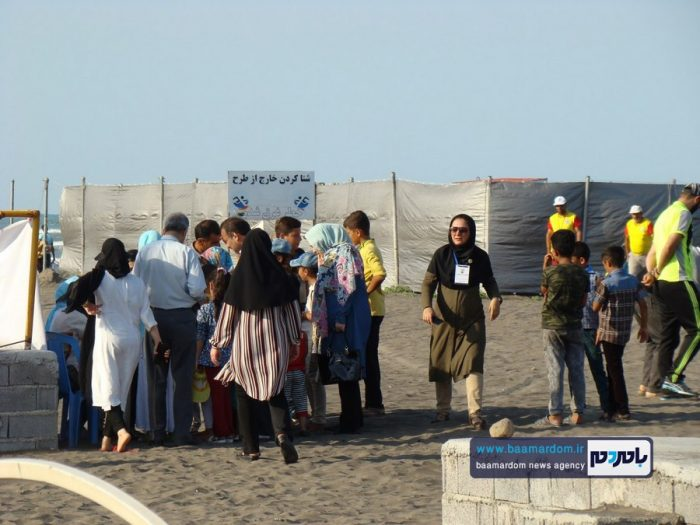 جشنواره روز ملی دریای کاسپین در ساحل لاهیجان 1 - جشنواره بین المللی پاسداشت دریای کاسپین در ساحل لاهیجان برگزار شد + تصاویر