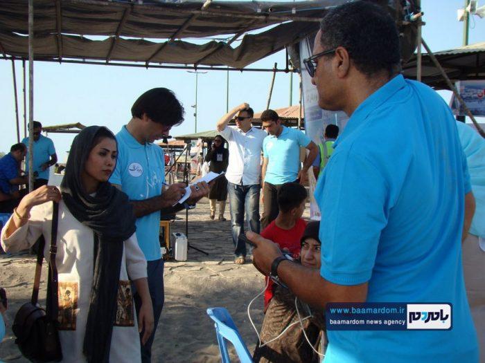 جشنواره روز ملی دریای کاسپین در ساحل لاهیجان 10 - جشنواره بین المللی پاسداشت دریای کاسپین در ساحل لاهیجان برگزار شد + تصاویر